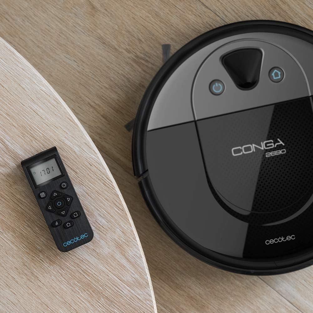 Cecotec Conga 2690. Robot Aspirador con tecnología iTech Camera ...