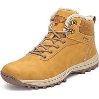 Mishansha Hombre Mujer Botas de Nieve Senderismo Impermeables Deportes Trekking Zapatos Fur Forro Aire Libre Boots Talla…