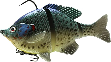 "Savage Gear 3D 5/"" Bluegill Swimbait Choice of Colors and Sink Rates"