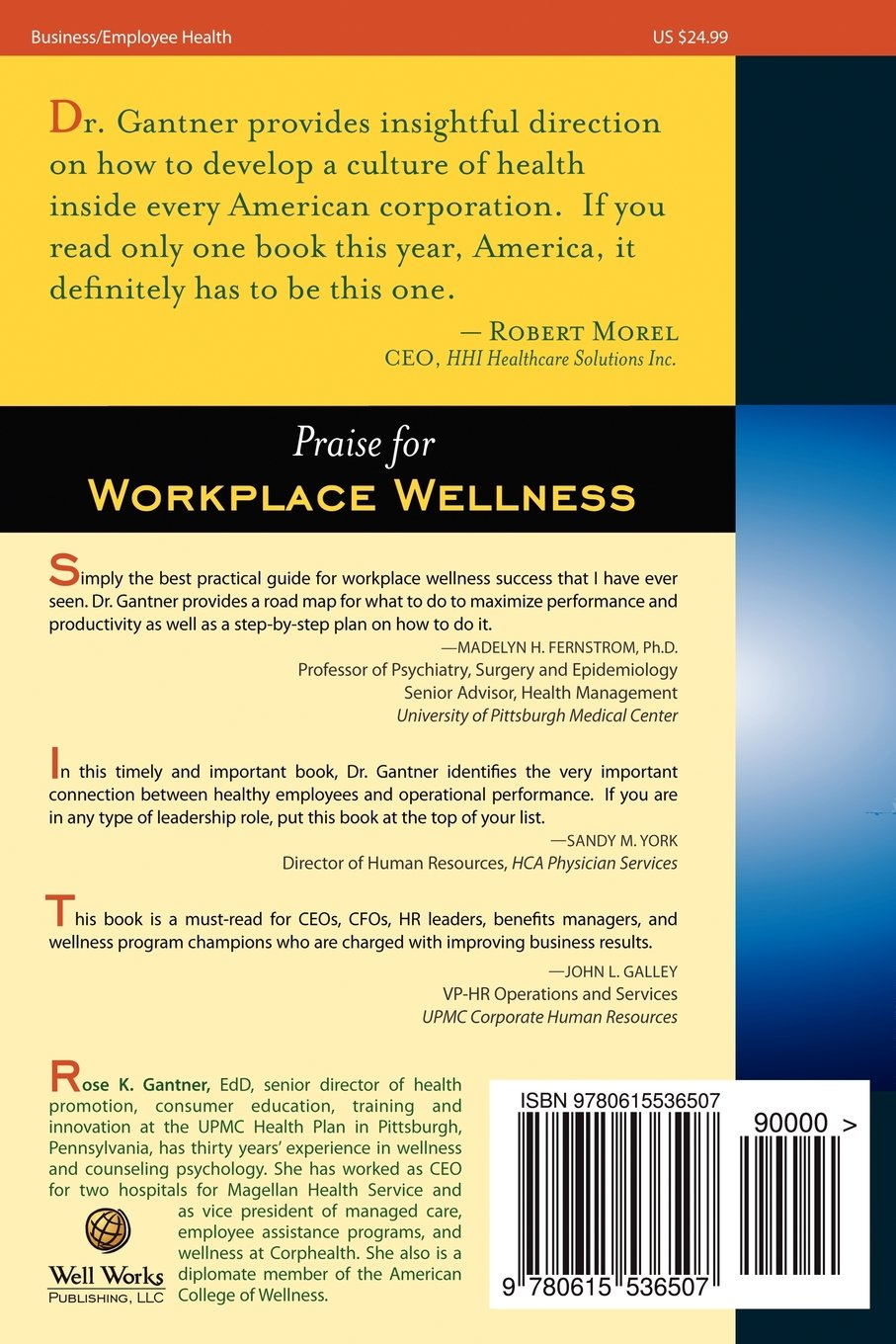 Workplace Wellness: Performance with a Purpose: Achieving