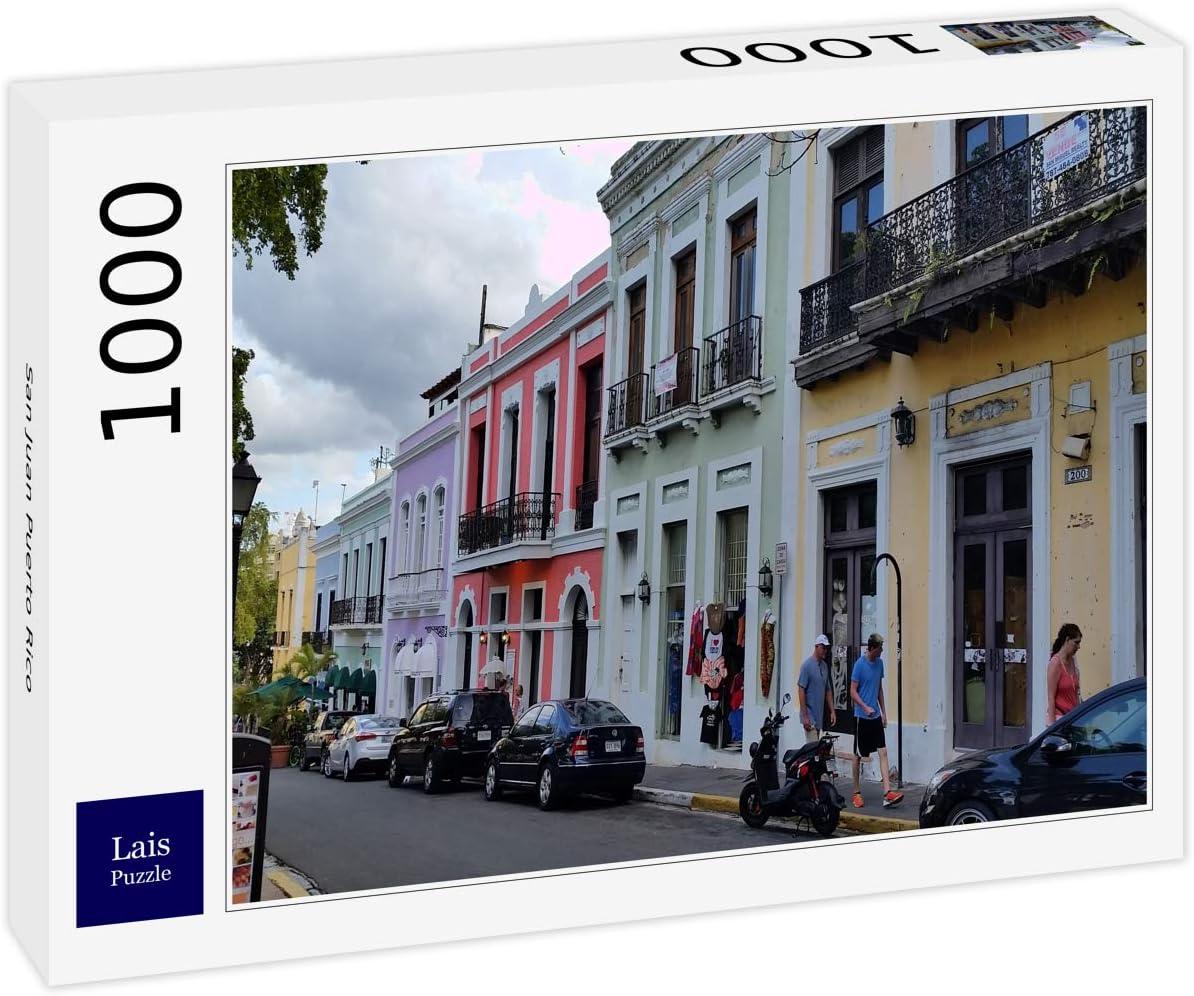 Lais Puzzle San Juan Puerto Rico 1000 Piezas: Amazon.es: Juguetes y juegos