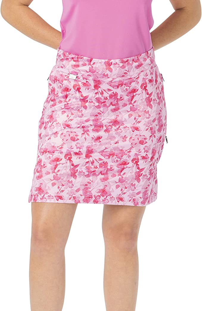 Nancy Lopez - Falda de Golf con Estampado Glimmer, Color Rosa ...