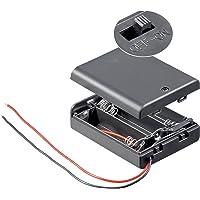 Unbekannt Lot de 10 supports de batterie 3 x mignon AA - Boîtier fermé