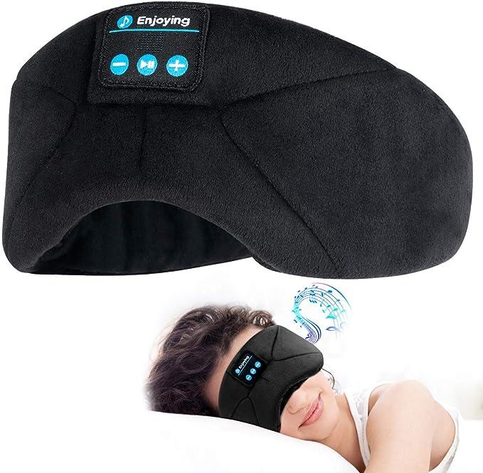 Sleep Mask Upgraded Sleep Headphones Bluetooth Eye Mask For Sleeping Blindfold Mask For Naps Yoga Office Travel Unisex Personalised Popular Birthday Gifts Men Mom Dad Her Him Adults Boys Girls Amazon Co Uk Electronics