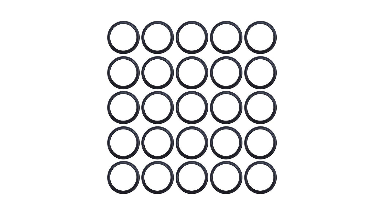 Buna NBR 70 D Sterling Seal XP70BUN020X25 020 Quad Ring Pack of 25