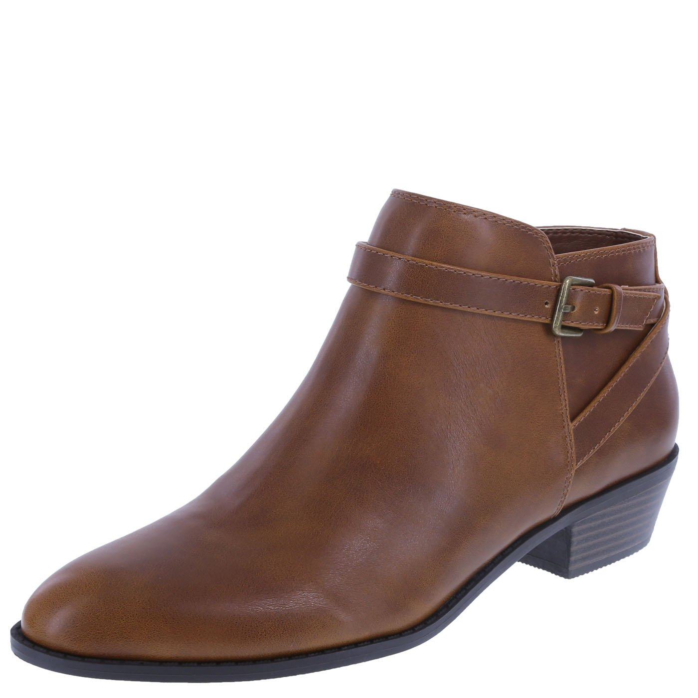 Lower East Side Women's Cognac Women's Spencer Ankle Boot 8.5 Wide
