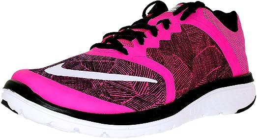 Nike Women's Fs Lite Run 3 Print W Pink Blast/White/Black Ankle-
