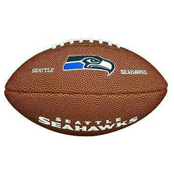 Wilson NFL Team Logo Seattle Seahawks Mini balón de fútbol ...