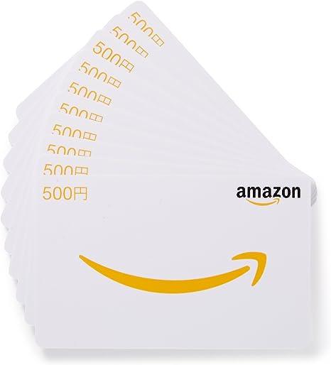 Amazon.co.jp: Amazonギフト券 - マルチパック・カードタイプ - 500円×10枚: Amazonギフト券