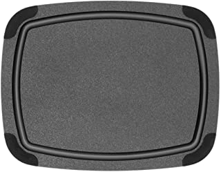 """product image for Epicurean Cutting Board with Removable Silicone Corners, 11.5"""" by 9"""", Black"""
