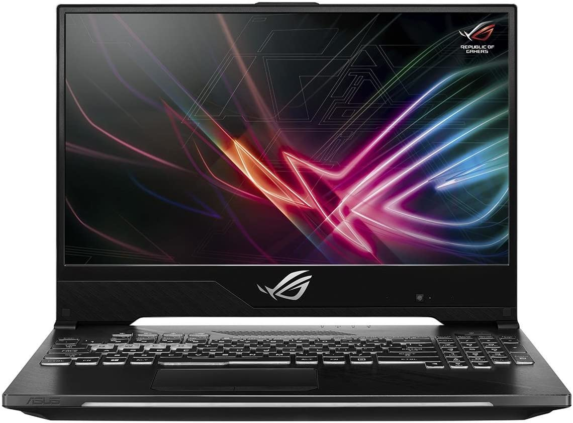 "Asus ROG Strix Hero II Gaming Laptop, 15.6"" 144Hz IPS-Type Slim Bezel, NVIDIA GeForce GTX 1060 6GB, Intel Core i7-8750H, 256GB PCIe SSD, 8GB RAM, GL504GM-WH71"