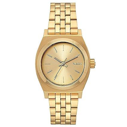 Nixon Reloj Mujer de Analogico con Correa en Acero Inoxidable A1130-502-00