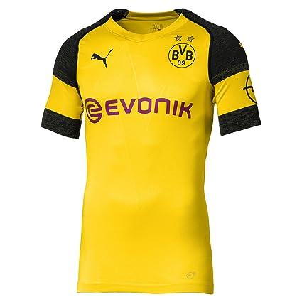 7b30c0a99cc4e PUMA 2018-2019 Borussia Dortmund Authentic evoKNIT Home Football Shirt