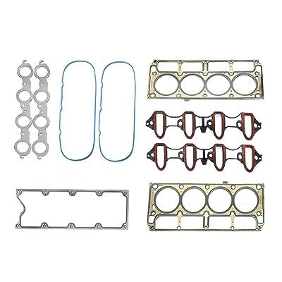 YIDEZU Compatible Crankshaft Gasket /& Seal Set for 1997-2011 Chevy GMC 4.8L 5.3L 5.7L 6.0L 6.2L