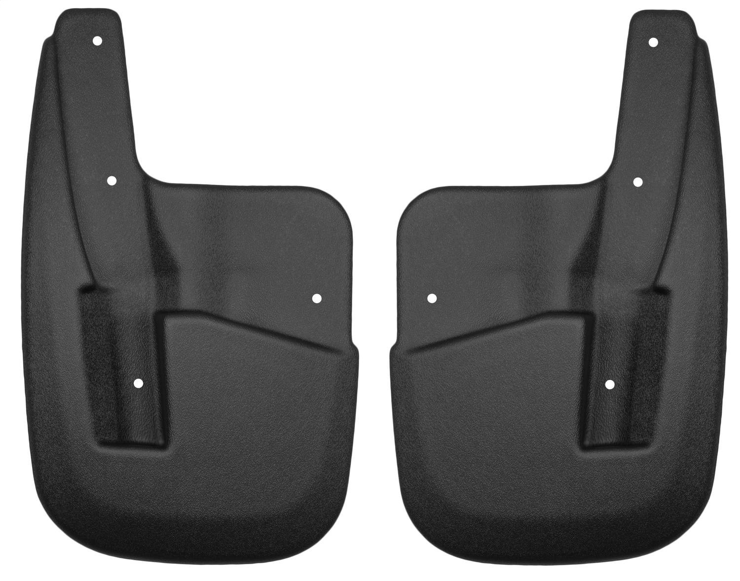 Husky Liners Front Mud Guards Fits 07-17 Expedition XLT w//o power running boards