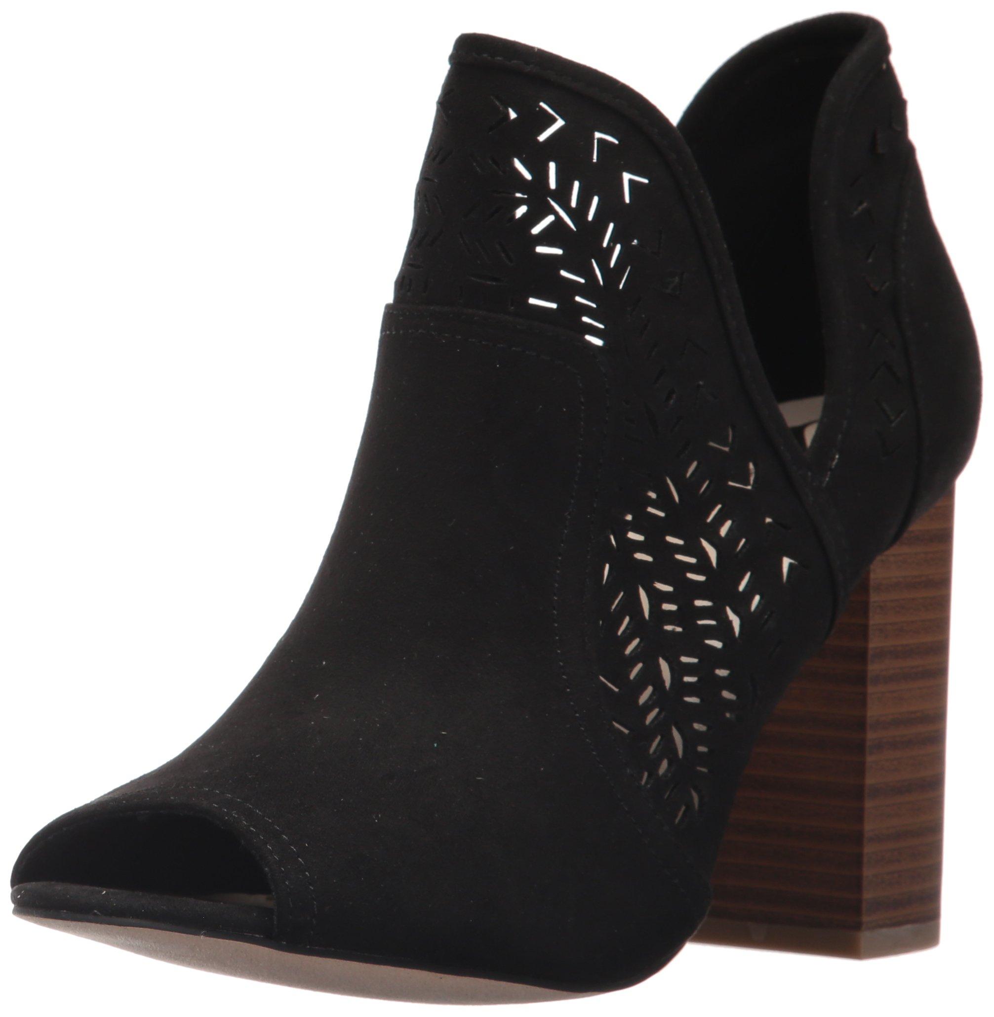 Fergalicious Women's Harvey Ankle Boot, Black, 8.5 M US