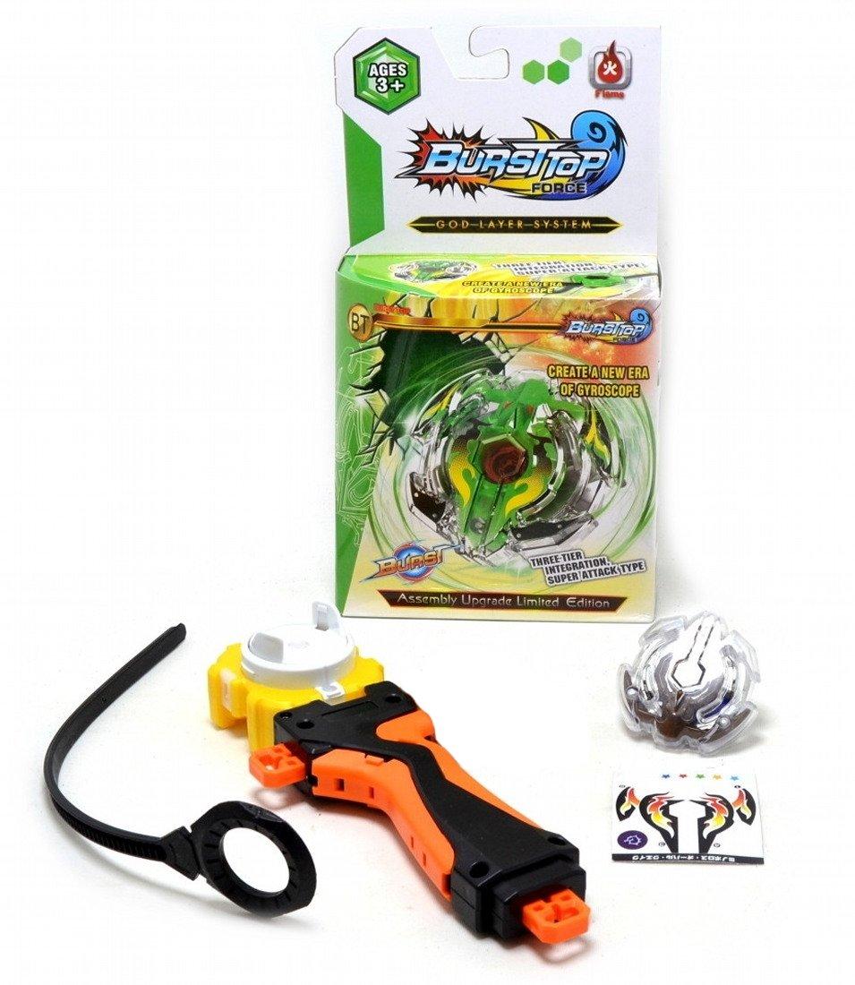 BURST-TOP G1 Estilo Beyblade Spinning Top Con un lanzador manual Bey Blade Beyblade: Amazon.es: Juguetes y juegos