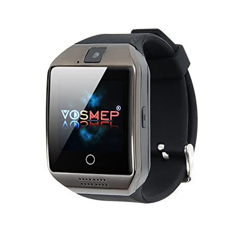 b7686bbb63c5f VOSMEP Reloj Inteligente Apro Smart Watch sorporte Facebook Whatsapp con Bluetooth  3.0 Built-in 8G Memoria ...