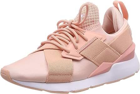 Puma Muse Satin EP Wns, Zapatillas para Mujer, Rosa (Peach Bud-Peach Bud), 36 EU: Amazon.es: Zapatos y complementos