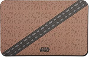 STAR WARS Chewbacca Brown Dog Placemat for Dog Bowls, 19