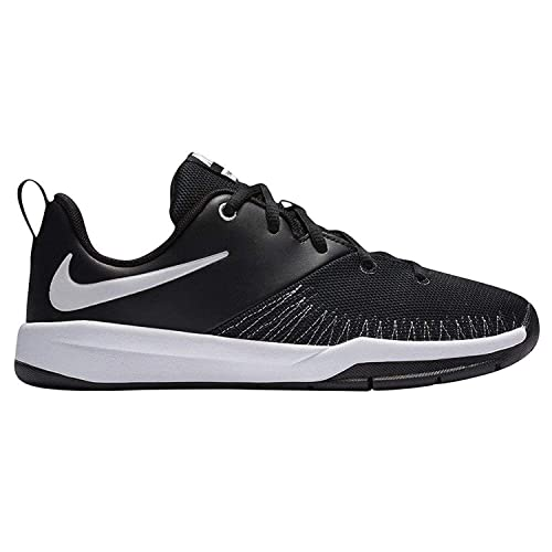 Nike Zapatillas de Baloncesto para Niños, Negro (Black/University Red-White)