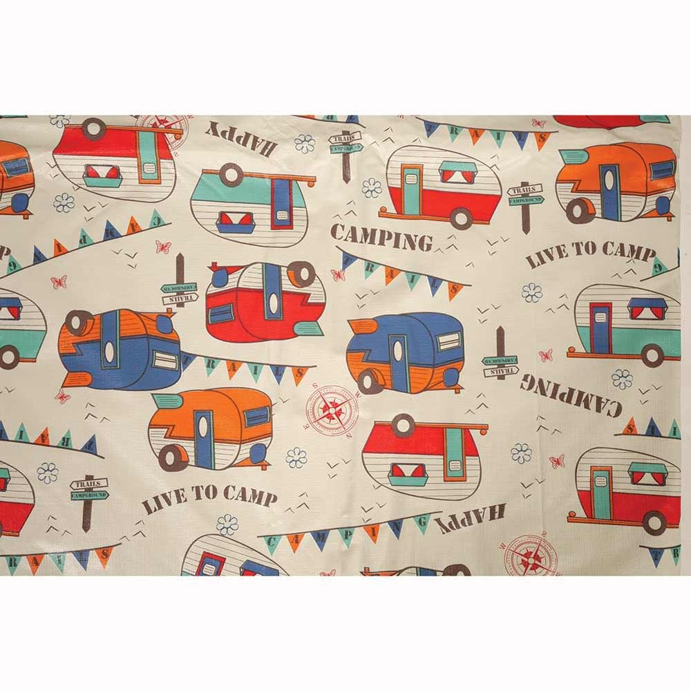 Amazon.com: Camping Trails Tablecloth: Kitchen & Dining