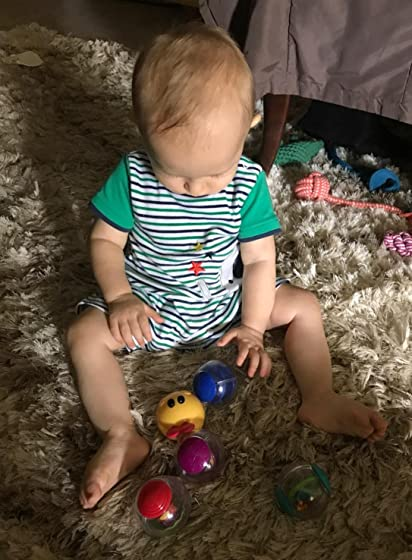 Baby Einstein Explore & Discover SoftBlocksToys,Ages 3 months + My 11 month old loves these!