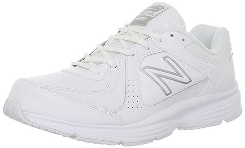 New Balance MW411 - Zapatillas de running de cuero para hombre blanco WT-White 46