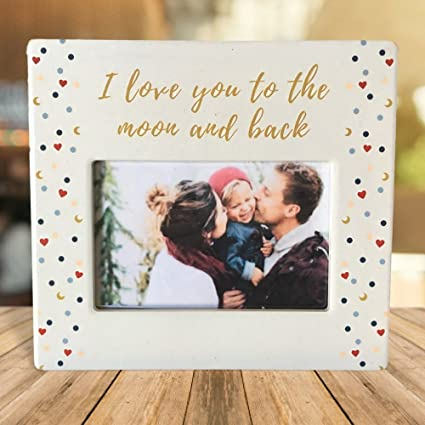 Amazon.com - BANBERRY DESIGNS I Love You To the Moon and Back ...