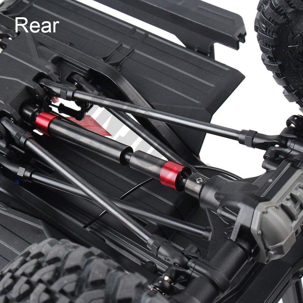 INJORA 2PCS TRX4 Metal CVD Drive Shaft for 1/10 RC Rock Crawler Traxxas TRX-4 RC Car by INJORA (Image #6)