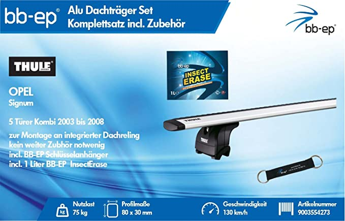 BB-EP/Thule 9003554273 Productos Letter Premium de Aluminio ...