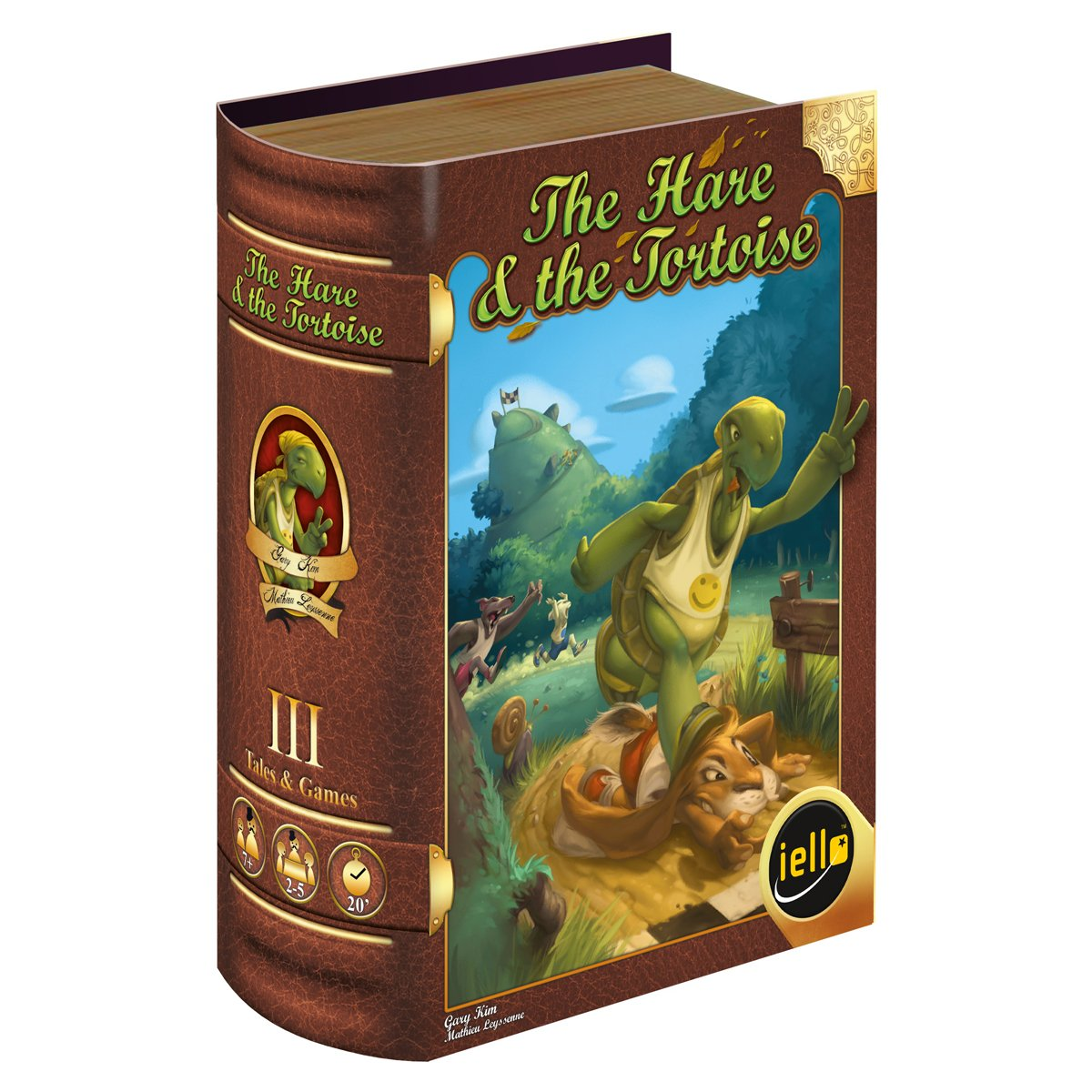 IELLO The Hare and The Tortoise Card Game