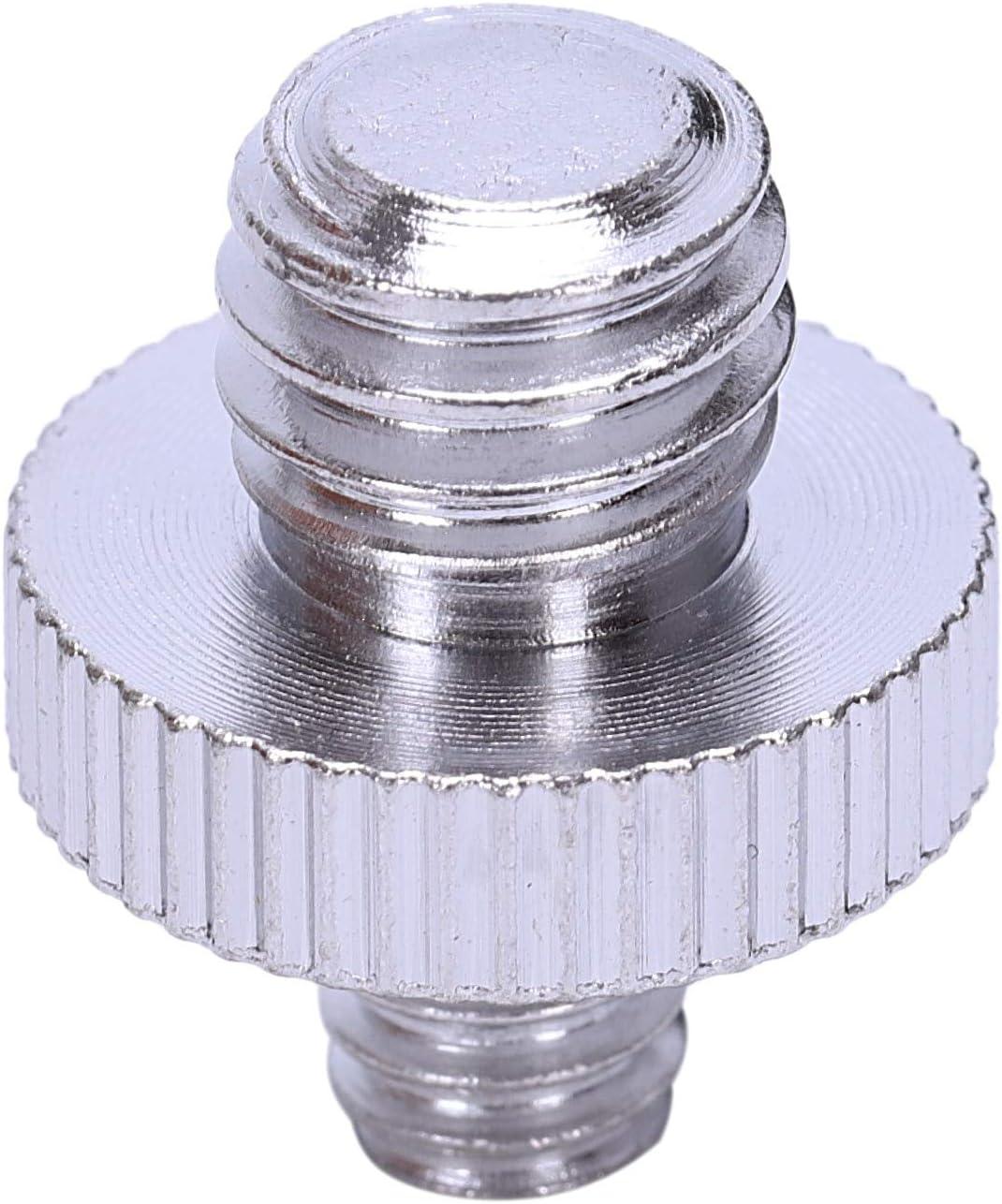Screw FDDT Camera Screw Adapter 1//4 inch Male to 1//4 inch Male Screw 1//4 Male to 3//8 Male Tripod Screw Adapter Converter Camera//Tripod