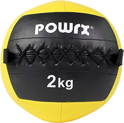 Powrx wall ball palla medica 2-10 kg B01EA8D1AI