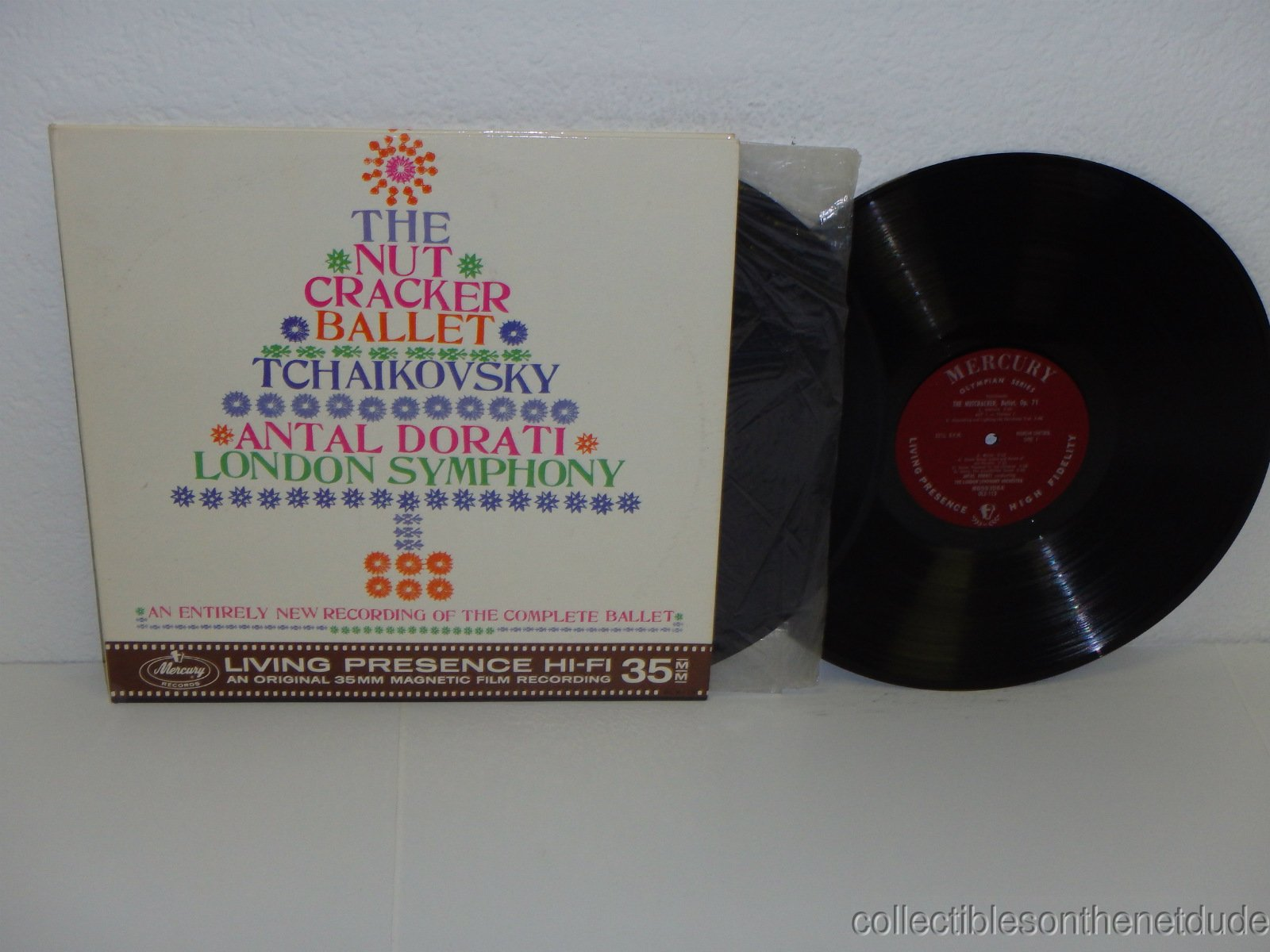 The Nutcracker Ballet -Tchaikovsky-Antal Dorati-London Symphony 2LP set by London -Mercury Living Presence