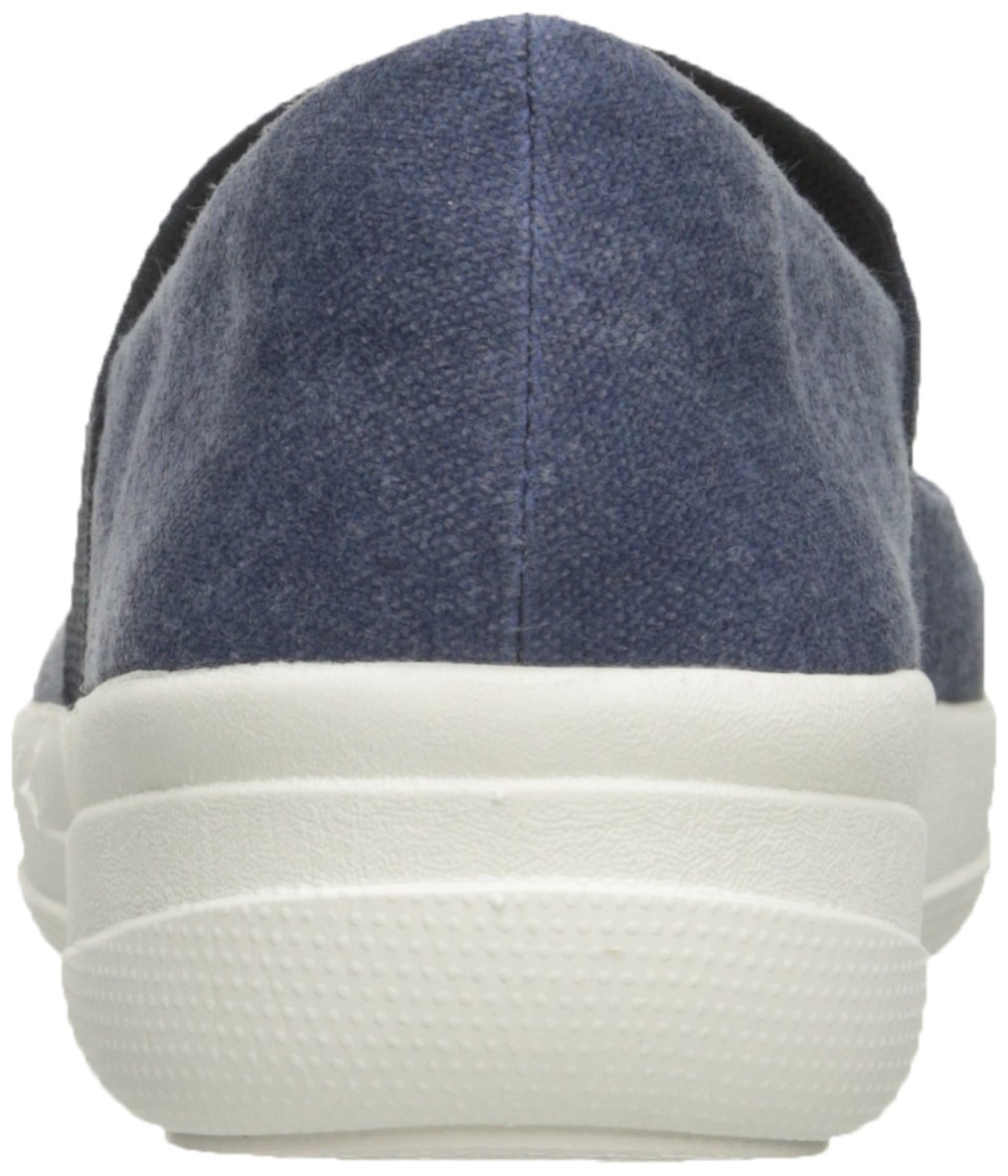 FitFlop Women's F-Sporty Mary Jane Flat, Midnight Navy, 6.5 M US by FitFlop (Image #2)