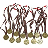 Set Of 12 Sports Day Winner's Medals