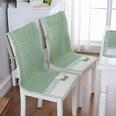 HMWPB Garden Fabric One-Piece Chair Cushion Dining Table Chair Cushion Seat Cushion Four Seasons Thick Non-Slip Cushion Cushions One-f 18x47inch: Kitchen & Dining