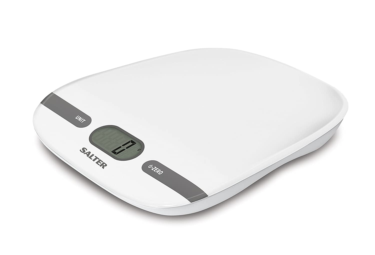 Salter Contour Digital Kitchen Scales - Electronic Food Weighing ...