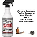 Vehicle Protection by Exterminators Choice-Mice & Rodent Repellent Vehicle Wiring|Protects Engine Wiring|Prevents Nesting/Chewing-All Natural-for Rats,Squirrels, Mice…