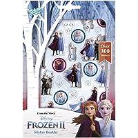 Frozen II 680708 Klistermärkesbok, Frozen, Flerfärgad