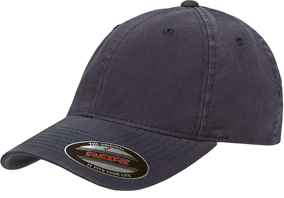 Flexfit/Yupoong Mens Standard Low-Profile Unstructured Fitted Dad Cap 6997