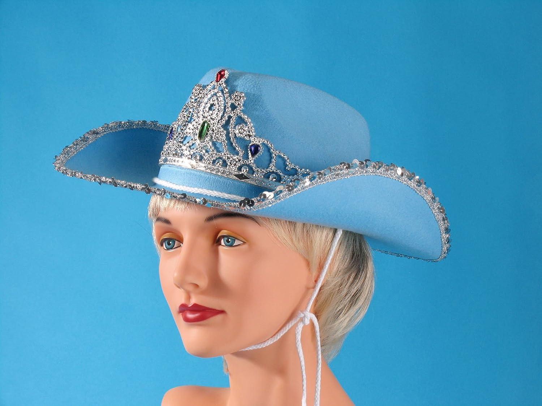Amazon.com  Loftus Rodeo Queen Sequins   Tiara Cowgirl Hat 94aaf87fc07d