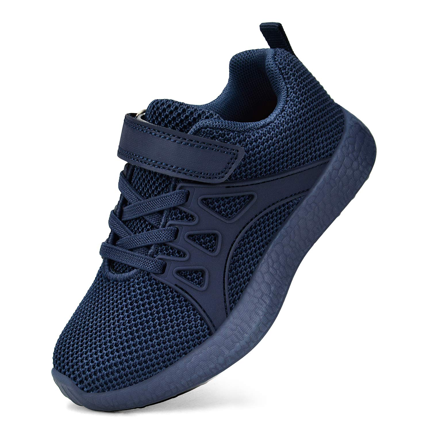 SouthBrothers Boys Shoes Mesh Breathable Kids Shoes for Girls All Blue Size 1.5 M US Little Kid