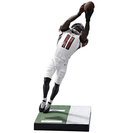 aad59159ff6 Amazon.com  McFarlane Toys Ea Sports Madden NFL 17 Ultimate Team Series 2  Julio Jones Atlanta Falcons Action Figure  Toys   Games