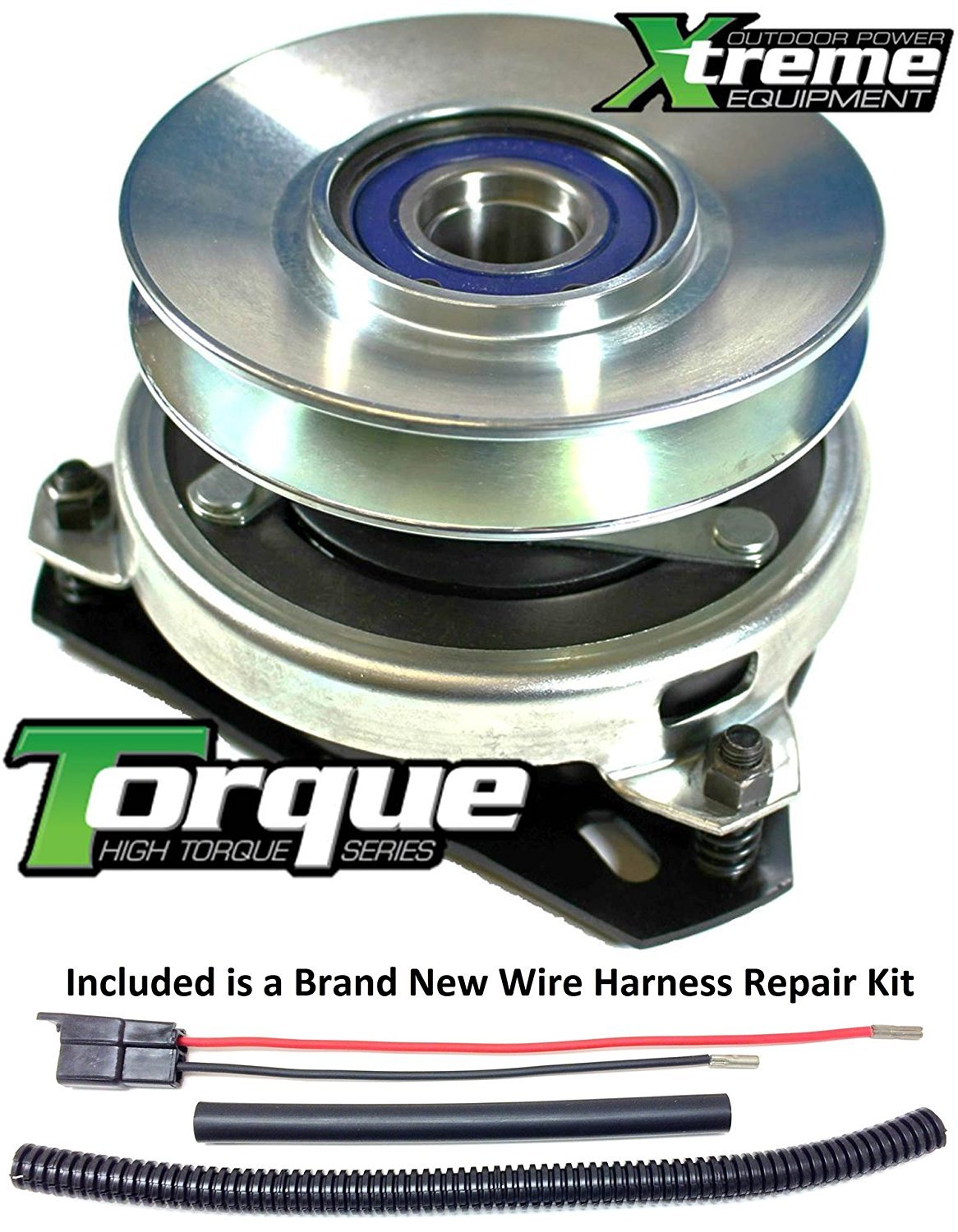 Bundle 2 Items Pto Electric Blade Clutch Wire Harness Repair Kit Engine Wiring Replaces Cub Cadet 717 04127 Lawn Mower Upgraded W
