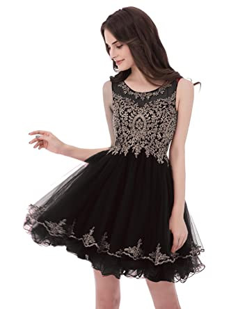 ec1fcb9f220 Belle House Senior s A Line Prom Homecoming Dresses 2019 Lace High School  Party Ball Gown