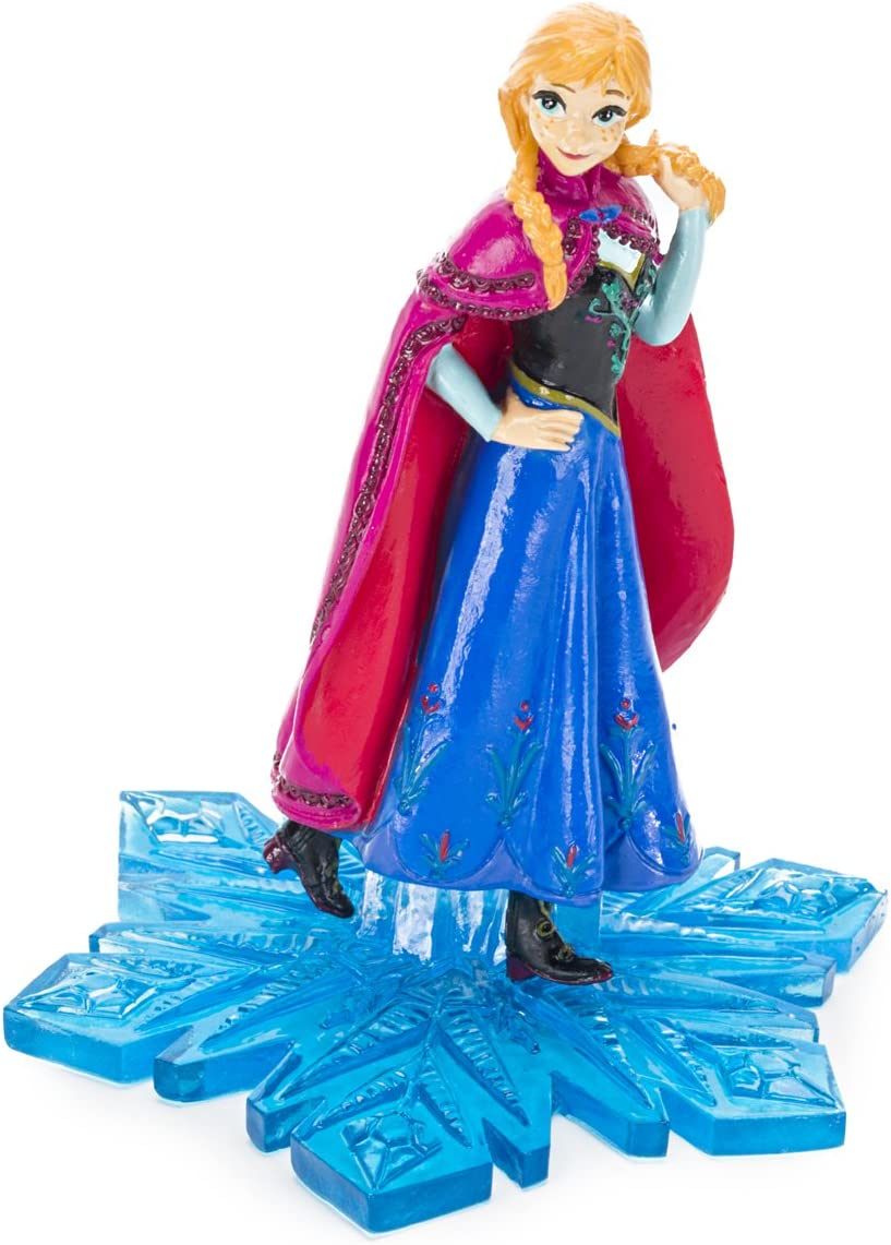 Penn-Plax Officially Licensed Disney's Frozen Anna Ornament: Instantly Create an Underwater Frozen Scene, Perfect for Fans of Disney's Frozen! Perfect for Fish Tanks and Aquariums! (FZR5)