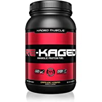 KAGED MUSCLE, RE-KAGED Whey Protein Powder, Whey, Orange Kream, Post Workout Recovery, BCAA's, EAA's, Creatine HCl, Glutamine, Betaine, Natural Flavors, Orange Kream, 20 Servings