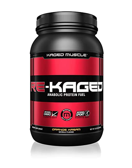 Kaged Muscle Post Workout Whey Protein Powder - 20 Servings (Orange Kream) Sports Supplements at amazon